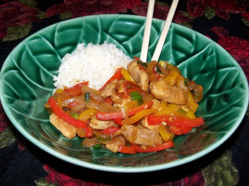 """Pork In A Sweet Ginger Sauce"" by Jenna's Everything Blog"
