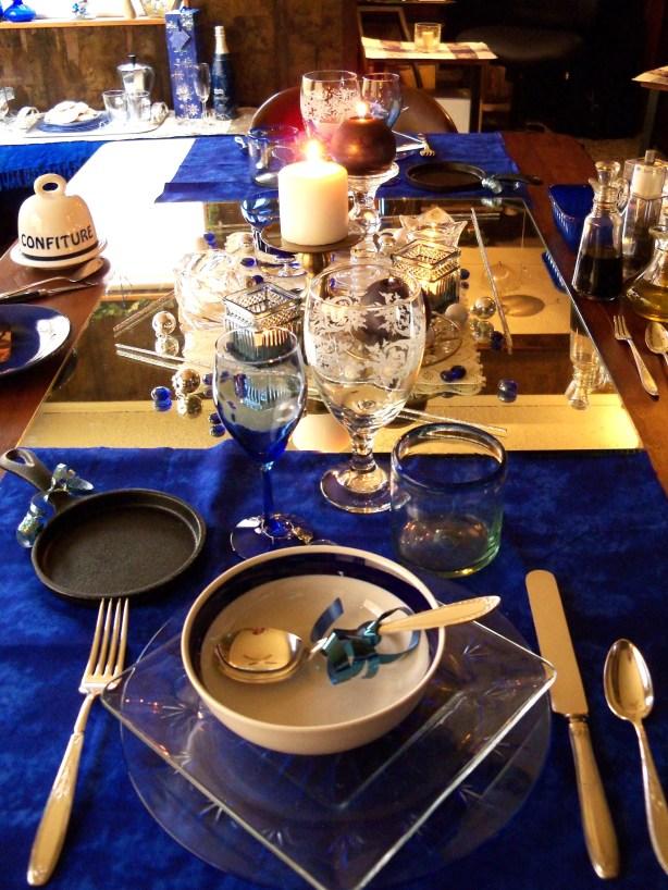 A Boho Blue Christmas