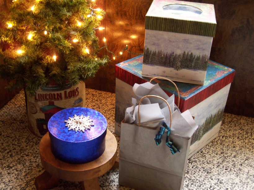 Boho gifts and tree
