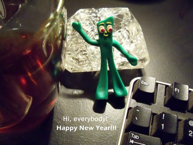 Gumby Happy New Year
