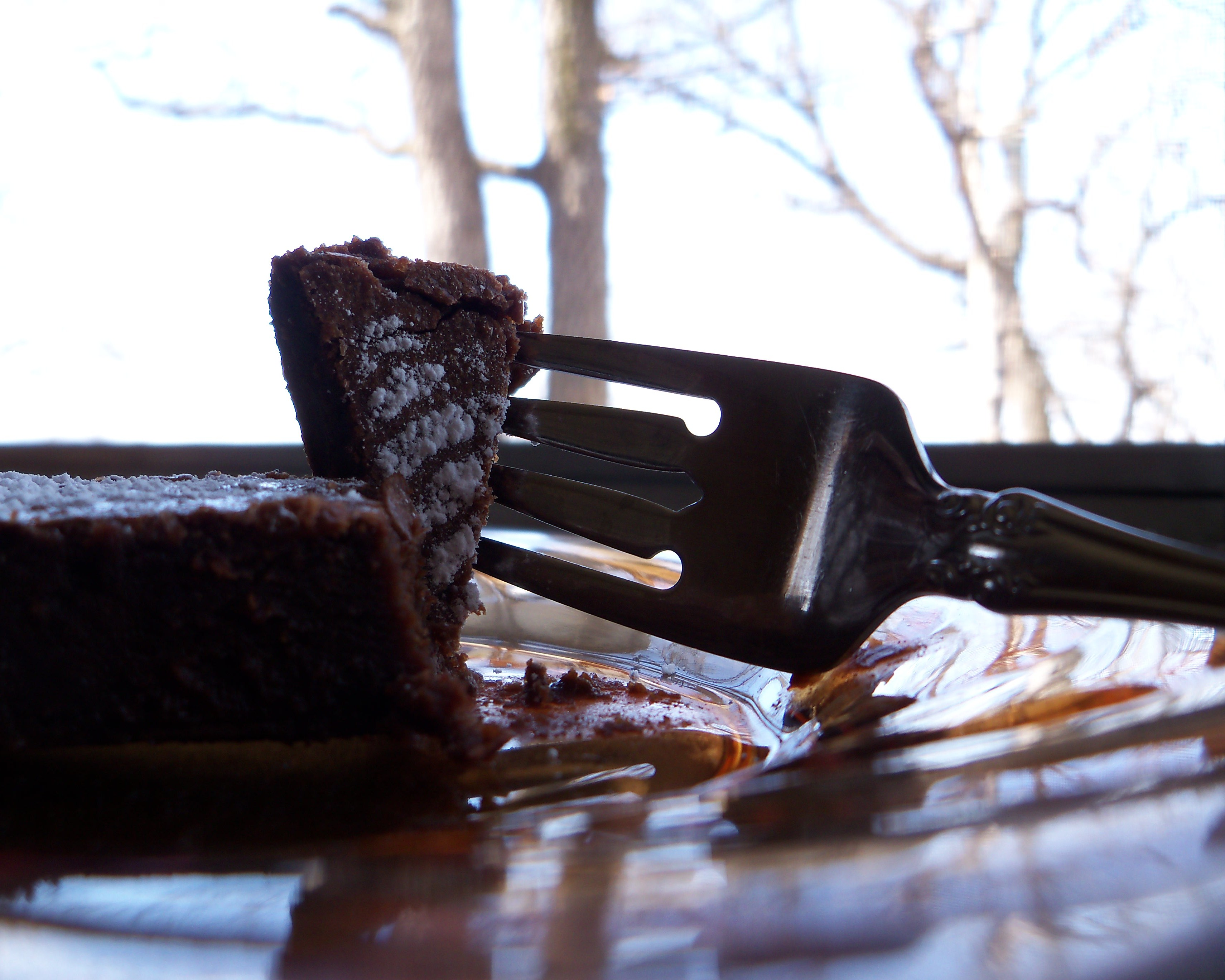 Cake Walk (Silky Chocolate Cake) – a little lunch