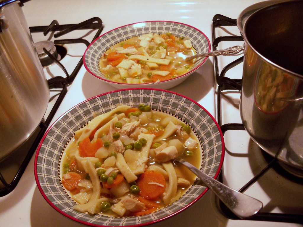 Homemade 2 x 4 Soup