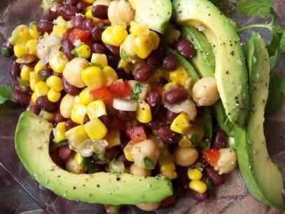 Aunt Shoe's Black Bean Salad