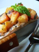 Isabelle At Home's Grilled Nectarine Salsa