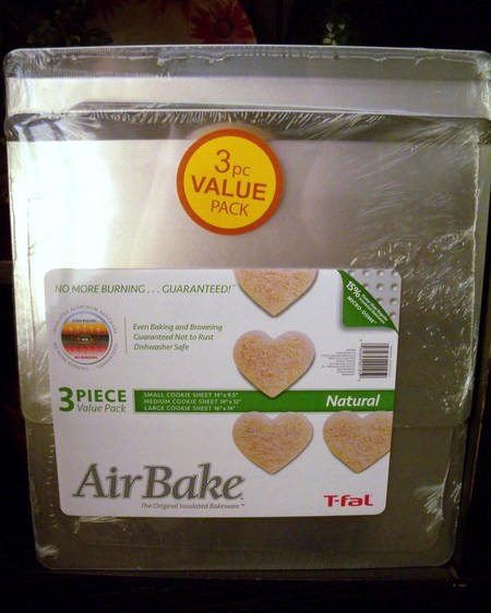 AirBake cookie sheets
