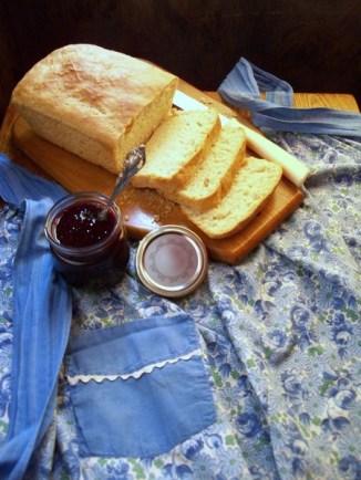 Grandmas Apron w Bread & Jam