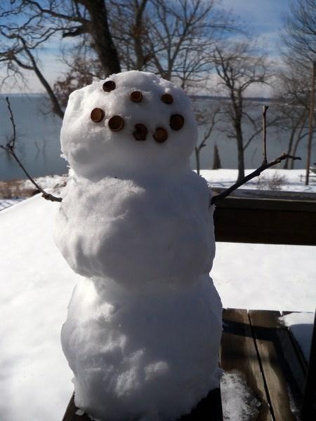 Snowman... in Oklahoma?!