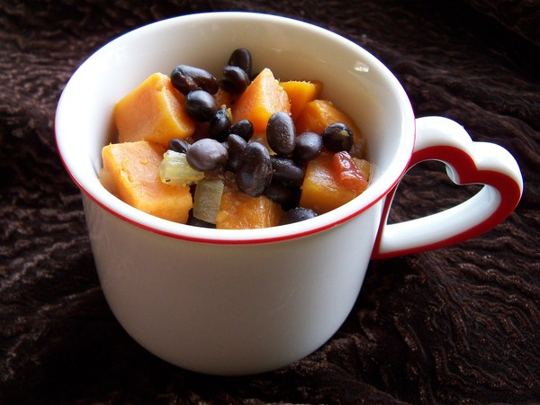 Black Bean and Sweet Potato Soup 2