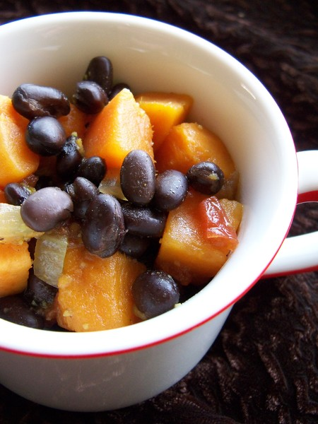 Black Bean and Sweet Potato Soup