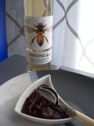 Honey Vodka Lingonberry Reduction