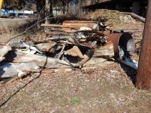 Fire debris -- ever present