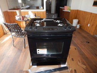 My New Stove (mid-assembly)