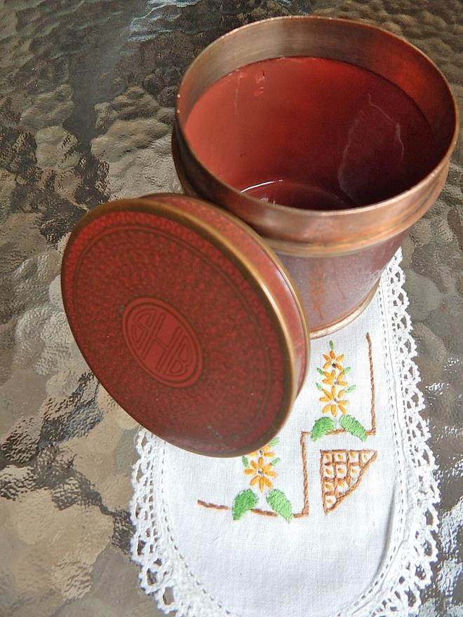 SHB enameled copper keepsake