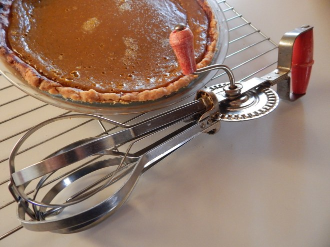 Pumpkin Pie the old fashioned way