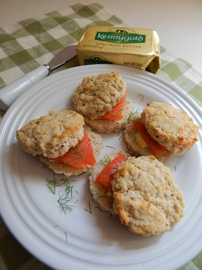 Biscuits and Smoked Salmon