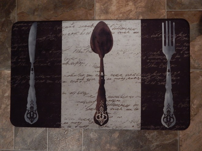 My new kitchen mat
