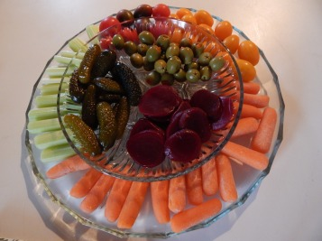 Crudite' platter