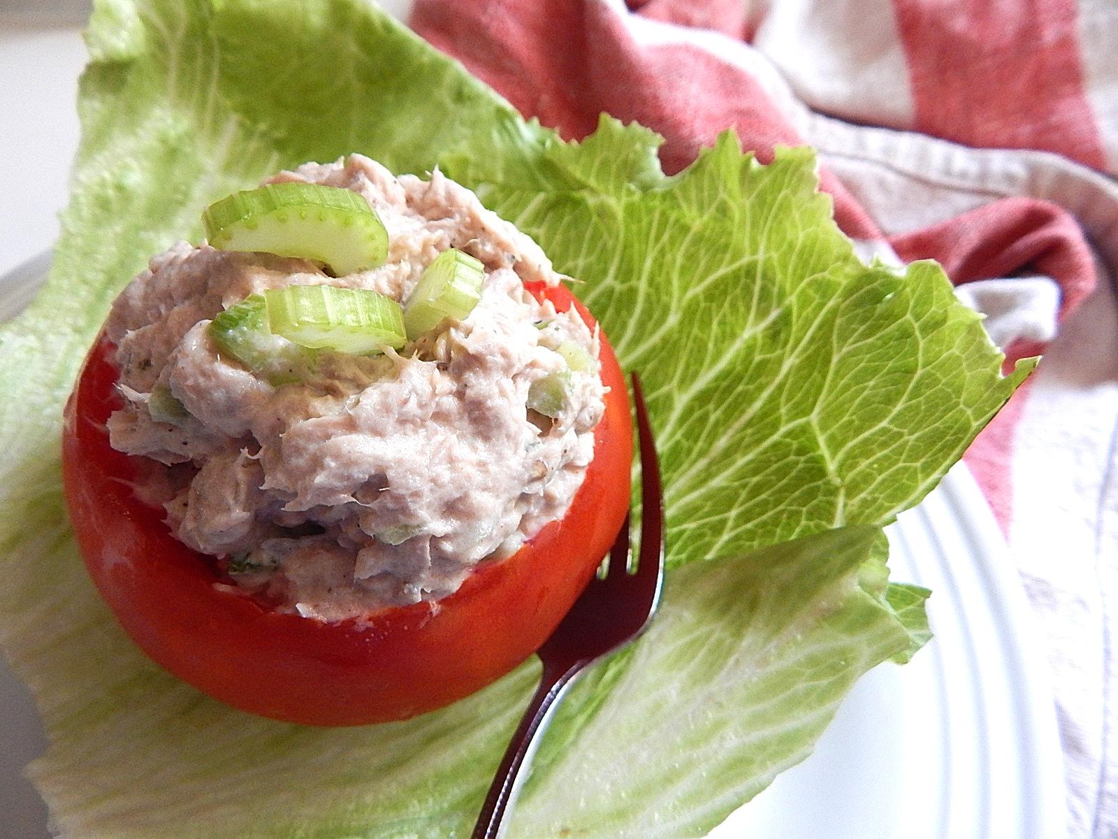 Tuna Salad Stuffed Tomato.JPG