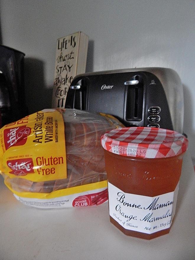 Orange Marmalde Toast