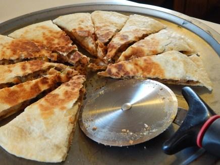 Pork & Mushroom Quesadillas