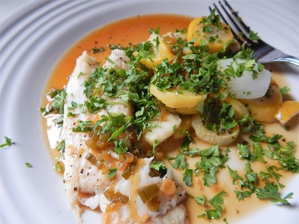 Fish with Lime Sauce