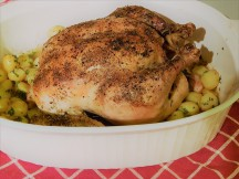 Herb Roast Chicken with Yukon Potatoes