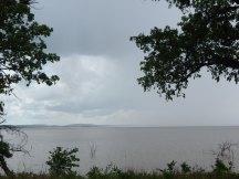 May 3 rain coming across the lake