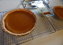 "Pumpkin Pie(s) and ""Pumpkin Without the Pie"""