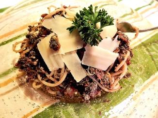 Mushroom Pate' Pasta